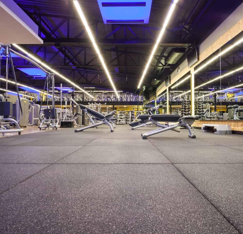 piso para academias